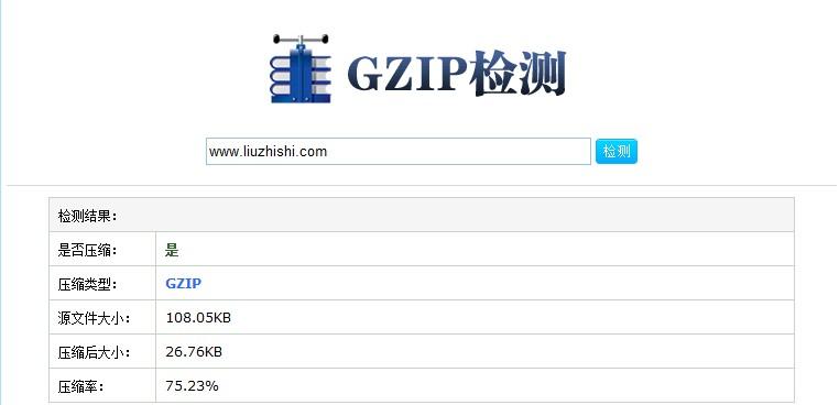 GZIP压缩检测